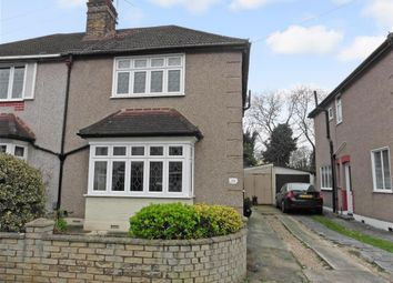 Thumbnail 3 bed semi-detached house for sale in Hillview Avenue, Hornchurch, Essex