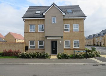 Thumbnail 4 bed detached house for sale in Lockwood Way, Hampton Water, Peterborough