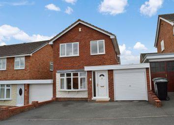 Thumbnail 3 bed detached house to rent in Redfield Close, Broseley