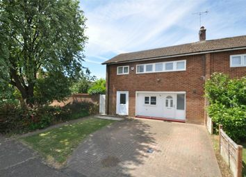 Thumbnail 3 bedroom end terrace house for sale in Bushey Ley, Welwyn Garden City, Hertfordshire