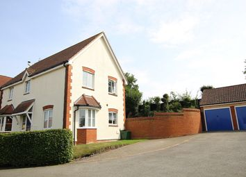 Thumbnail 4 bed detached house for sale in Willow Close, Claydon, Ipswich, Suffolk