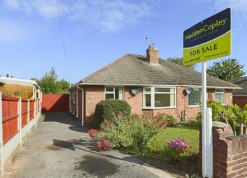 Thumbnail 2 bed semi-detached bungalow for sale in Valetta Road, Arnold, Nottinghamshire