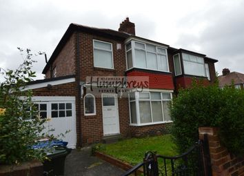 Thumbnail 3 bed property to rent in Woodburn Avenue, Fenham, Newcastle Upon Tyne