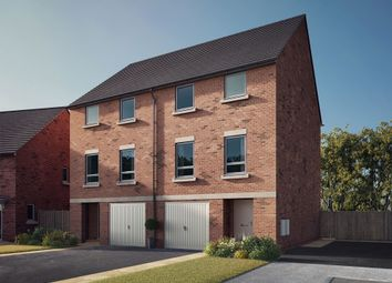 "Thumbnail 4 bed semi-detached house for sale in ""The Beadnell"" at South Newsham Road, Blyth"