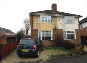 Thumbnail 2 bed semi-detached house for sale in Quorn Drive, Lincoln