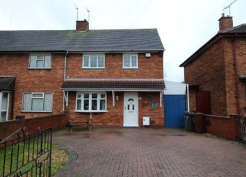 Thumbnail 2 bedroom semi-detached house for sale in Ashfield Road, Fordhouses, Wolverhampton