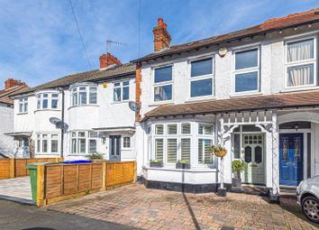 Thumbnail 4 bed end terrace house for sale in Annett Road, Walton-On-Thames