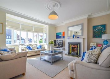 Thumbnail 3 bed flat for sale in Hillside Crescent, Leigh-On-Sea, Essex
