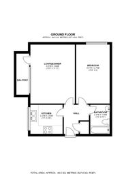 Thumbnail 1 bed flat for sale in Shortlands Road, Bromley