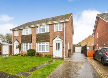 Thumbnail 3 bed semi-detached house for sale in Ascot Close, West Wittering, Chichester
