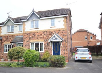 Thumbnail 3 bed semi-detached house for sale in Brayford Road, Woodfield Plantation, Doncaster