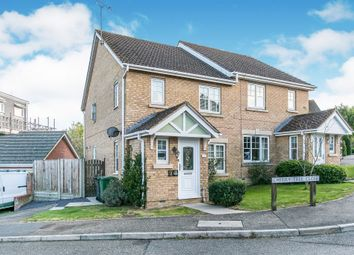 Thumbnail 3 bed semi-detached house for sale in Cherry Tree Close, Halstead
