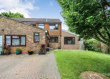 Thumbnail 4 bed semi-detached house for sale in Swann Close, Burgess Hill