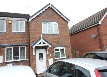 Thumbnail 2 bed end terrace house to rent in Skenfrith Place, Worcester