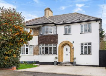 4 bed semi-detached house for sale in Woodside Avenue, Chislehurst, Kent BR7