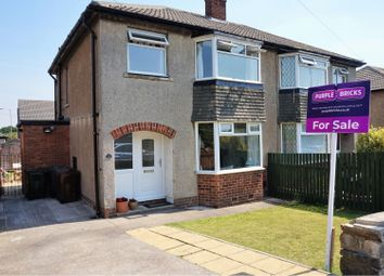 Thumbnail 3 bed semi-detached house for sale in Heaton Crescent, Eldwick