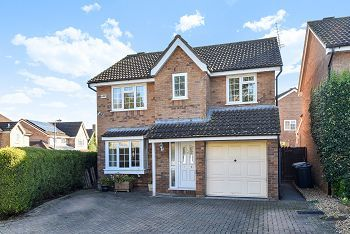 Thumbnail 4 bed detached house for sale in Were Close, Warminster