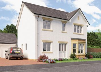 "Thumbnail 4 bedroom detached house for sale in ""Douglas"" at Broomhouse Crescent, Uddingston, Glasgow"