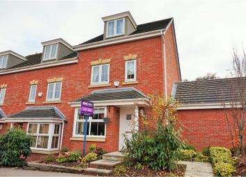 Thumbnail 4 bed end terrace house for sale in Birch Close, Sprotbrough, Doncaster