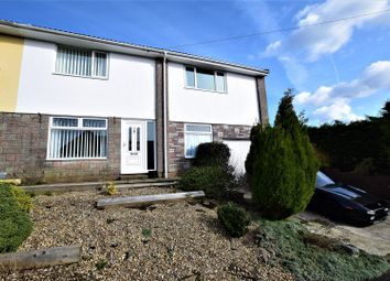 Thumbnail 4 bed semi-detached house for sale in St. Marks Close, Llanharan, Pontyclun