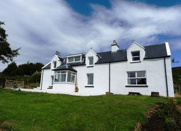 Thumbnail 4 bed detached house for sale in Camustianavaig, Braes, Isle Of Skye