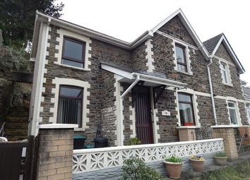 Thumbnail 2 bed semi-detached house for sale in Commercial Road, Llanhilleth