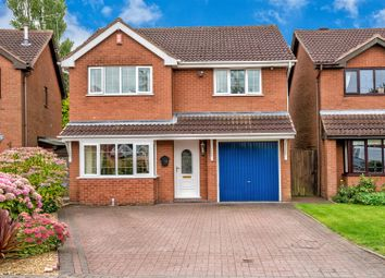 Thumbnail 4 bed detached house for sale in Newlands Court, Heath Hayes, Cannock