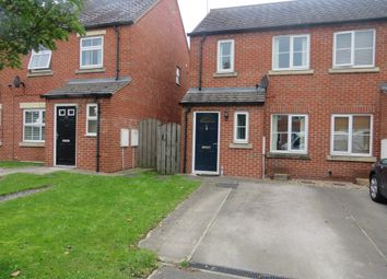 Thumbnail 2 bed semi-detached house for sale in Larch Way, Selby