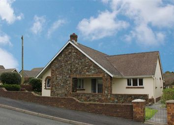 Thumbnail 3 bed detached bungalow for sale in Osborn Park, Neyland, Milford Haven