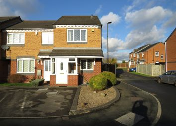 Thumbnail 2 bedroom end terrace house for sale in Conwy Close, Walsall