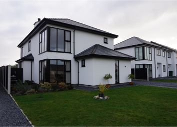 Thumbnail 4 bed detached house for sale in Cae Eithin, Porthmadog