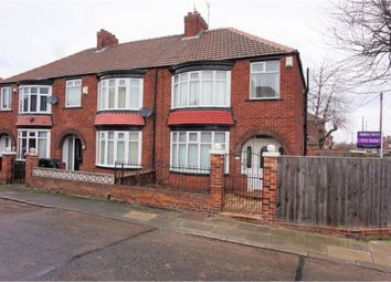 Thumbnail 3 bed semi-detached house for sale in Lichfield Road, Middlesbrough