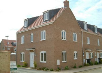 Thumbnail 4 bedroom town house to rent in Robertson Way, Sapley, Huntingdon