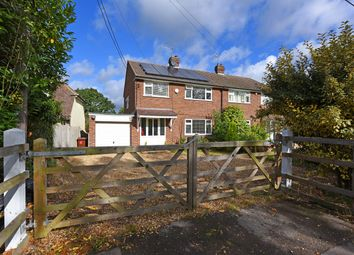 Thumbnail 3 bed semi-detached house for sale in Langley Common Road, Barkham, Wokingham