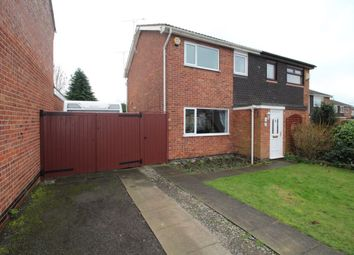 Thumbnail 3 bed semi-detached house for sale in Breachfield Road, Barrow Upon Soar, Loughborough