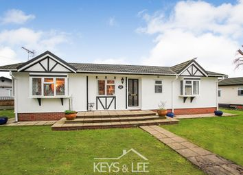 Thumbnail 2 bed mobile/park home for sale in The Green, Cummings Hall Lane, Noak Hill, Romford