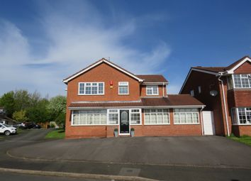 Thumbnail 4 bed detached house for sale in Wistmans Close, Milking Bank, Dudley