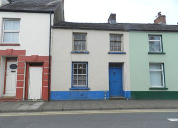 Thumbnail 3 bed terraced house for sale in Albert Street, Haverfordwest, Pembrokeshire