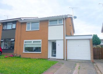 Thumbnail 3 bedroom semi-detached house to rent in Heronswood, Stafford