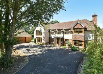 Thumbnail 5 bed detached house for sale in Cliff Way, Compton, Winchester, Hampshire
