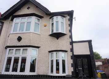 Thumbnail 3 bed end terrace house for sale in Harthill Avenue, Liverpool
