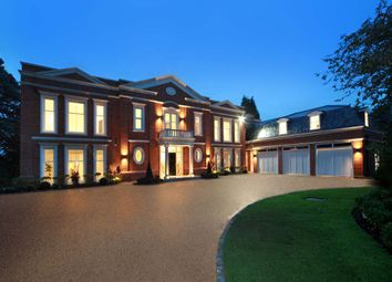 Thumbnail 5 bedroom detached house for sale in Falconwood House, Brooks Close, St. Georges Hill, Weybridge, Surrey