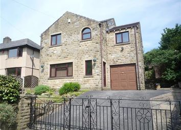 Thumbnail 4 bed detached house to rent in New Hey, Waters Road, Huddersfield