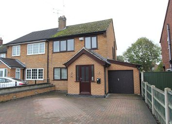 Thumbnail 3 bedroom semi-detached house for sale in Wood Road, Chaddesden, Derby, Derbyshire