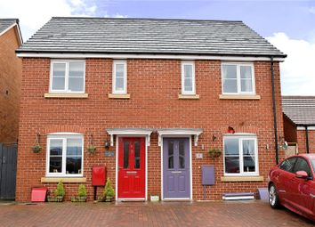 Thumbnail 2 bed semi-detached house for sale in Weasel Avenue, Droitwich Spa