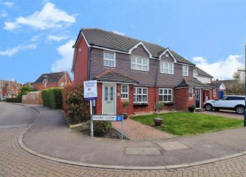 Thumbnail 3 bed semi-detached house for sale in Pacific Close, Swanscombe