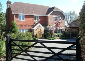 Thumbnail 5 bed detached house to rent in Pound Meadow, Sherfield-On-Loddon, Hook
