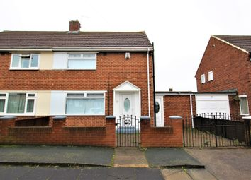 Thumbnail 2 bed semi-detached house for sale in Raleigh Road, Sunderland, Tyne And Wear