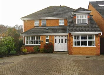 Thumbnail 4 bed detached house for sale in Wisley Gardens, Farnborough