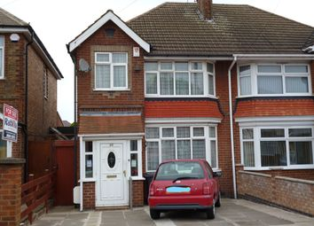 Thumbnail 3 bed semi-detached house for sale in Woodbridge Road, Belgrave, Leicester